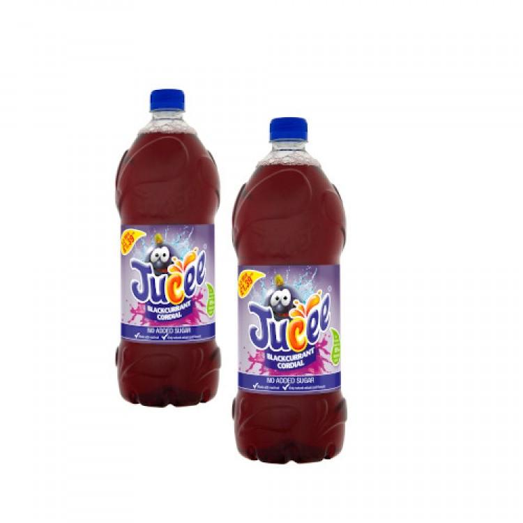 Jucee Blackcurrant Cordial 1.5L - 2 for £1.50