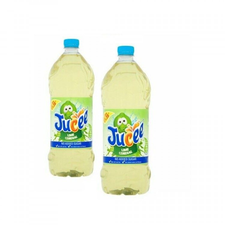 Jucee Lime Cordial 1.5L - 2 for £1.50