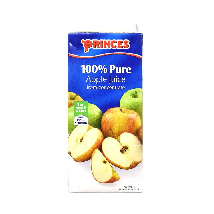 Princes Apple Juice from Concentrate 1Litre
