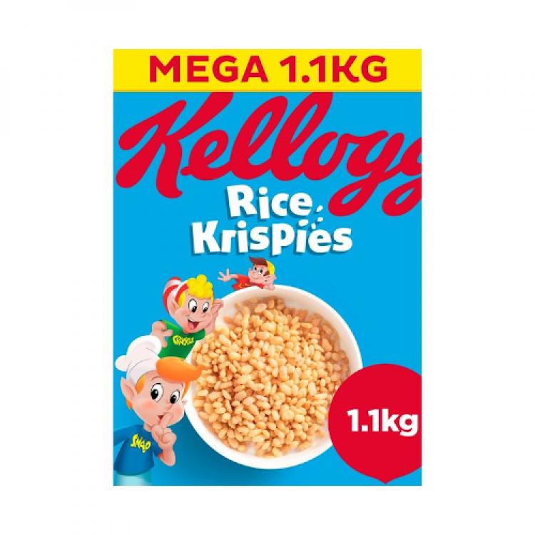 Kelloggs Rice Crispies Mega 1.1kg Cereal