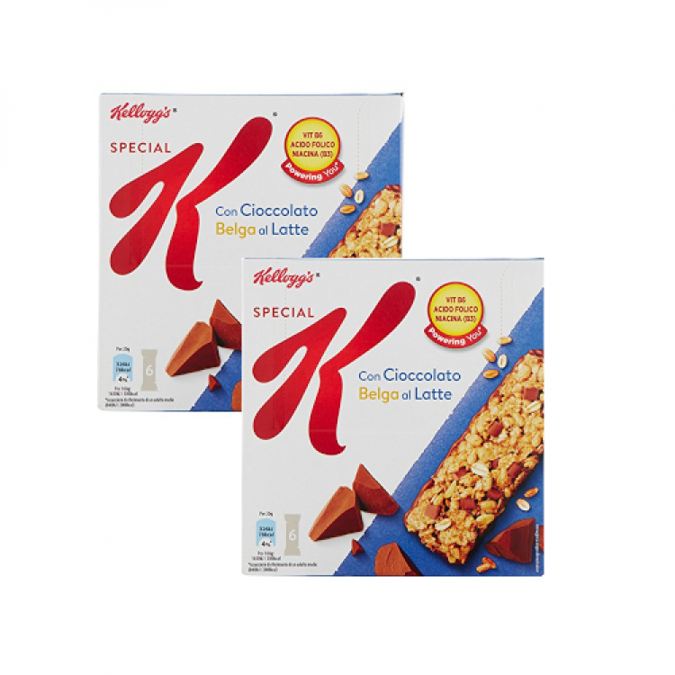 Special K With Belgain Milk Chocolate 6x20g - 2 For £1