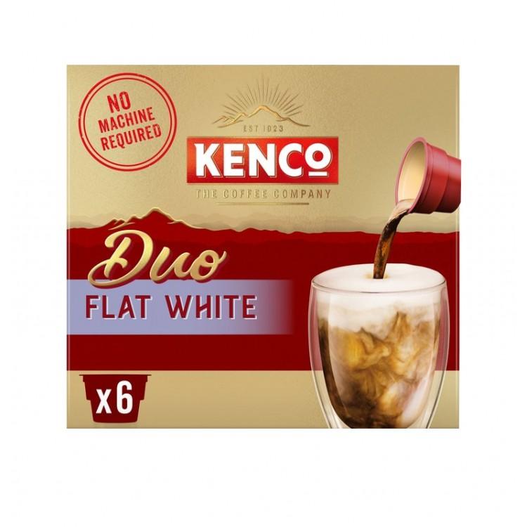 Kenco Due Flat White 129g