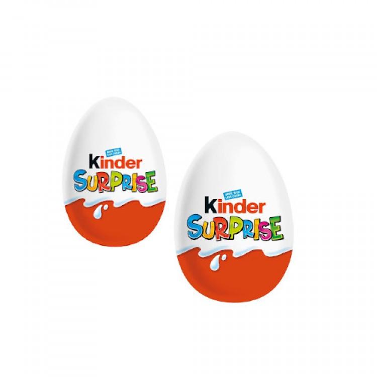 Kinder Suprise Eggs 20g - 2 For £1