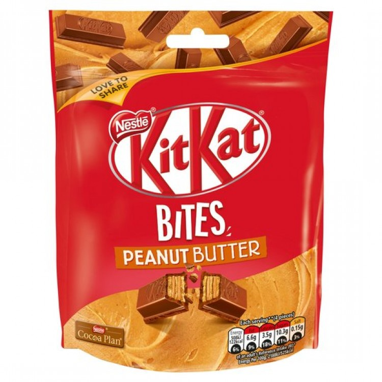 Kit Kat Bites Peanut Butter Bag 104g