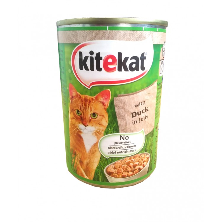 Kitekat with Duck in Jelly 400g - 2 For £1