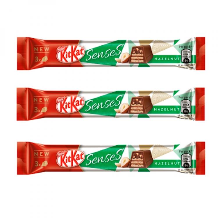 Kit Kat Hazelnut Senses 30g 3 For £1
