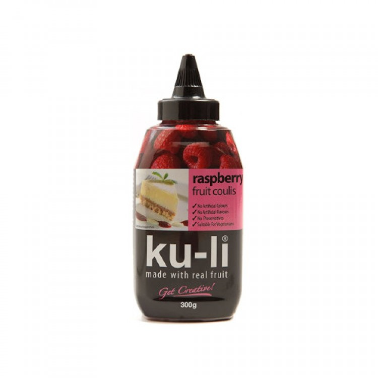 Raspberry Fruit Coulis 300g