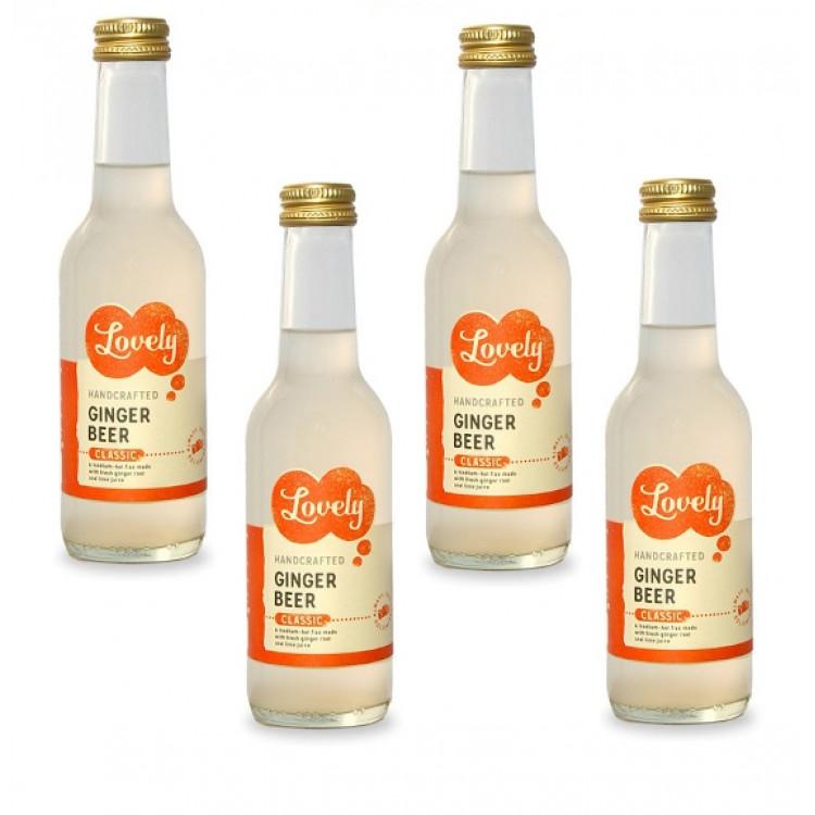 Lovely Handcrafted Ginger Beer 250ml Bottle - 4 For £1