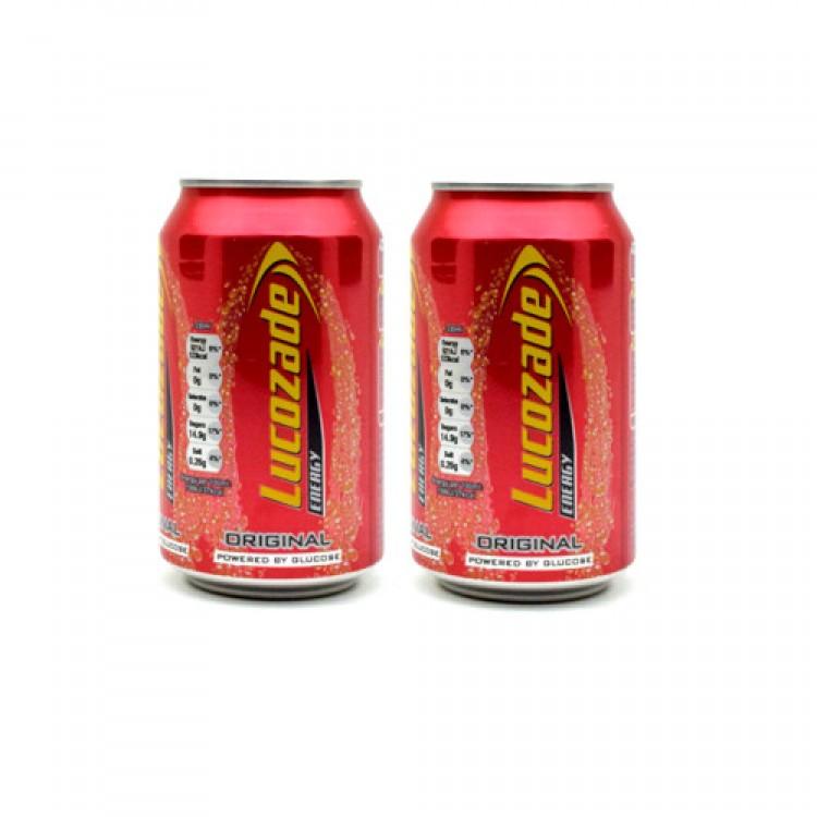 Lucozade Energy Original 330ml 2 For £1