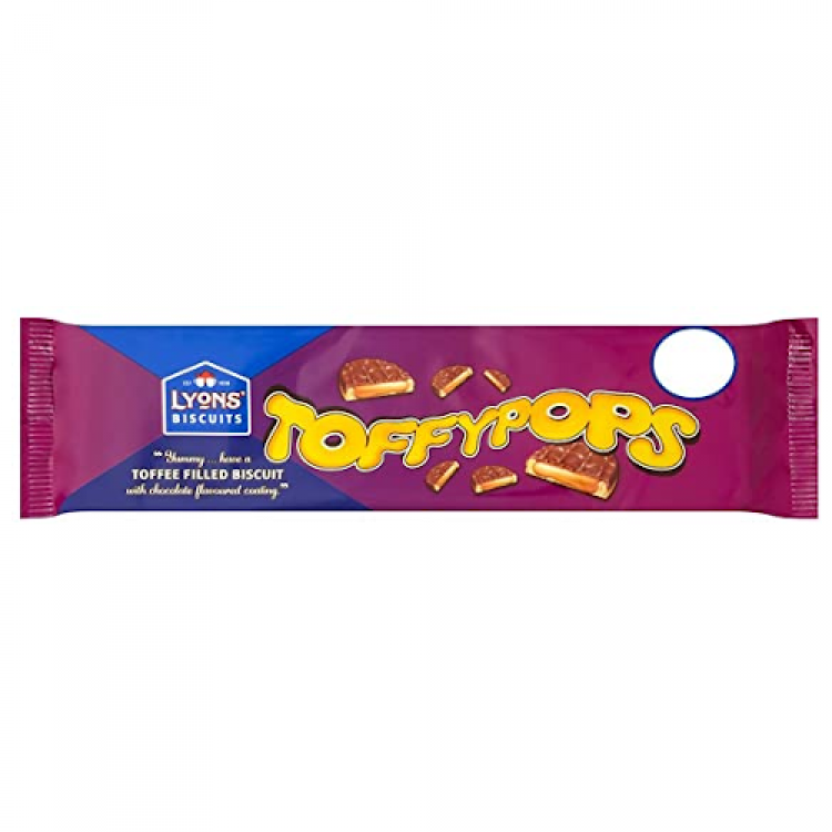 Lyons Toffypops Biscuits 120g