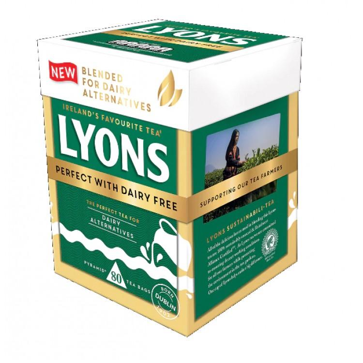Lyons Tea Bags 80 Pyramid Bags 232g