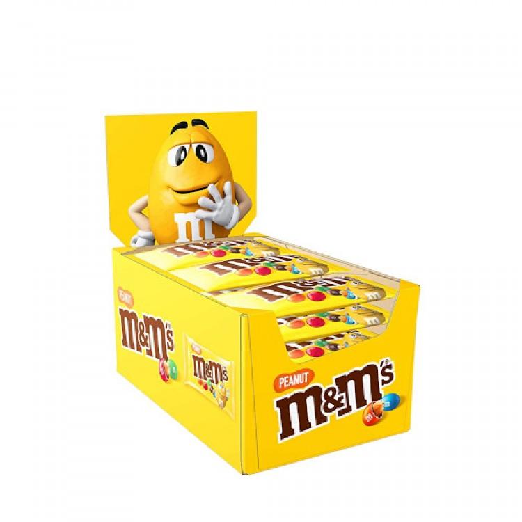 M&M's Peanut 24 x 45g CASE PRICE