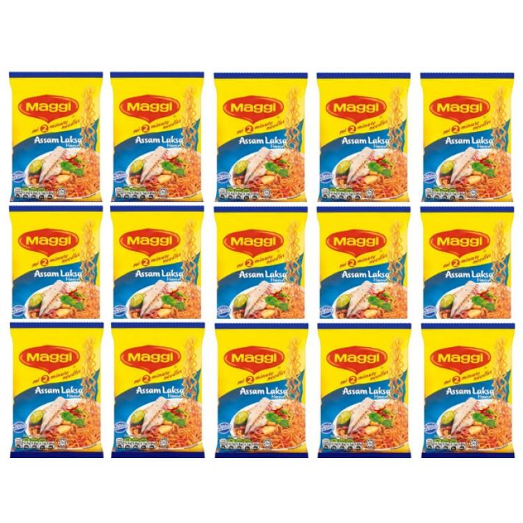 Maggi Assam Laksa Instant Noodles (5pack) 5x78g 3 For £1