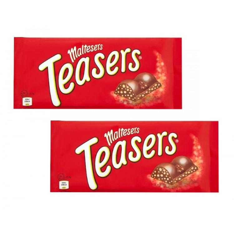 Maltesers Teasers 100g Bar - 2 For £1
