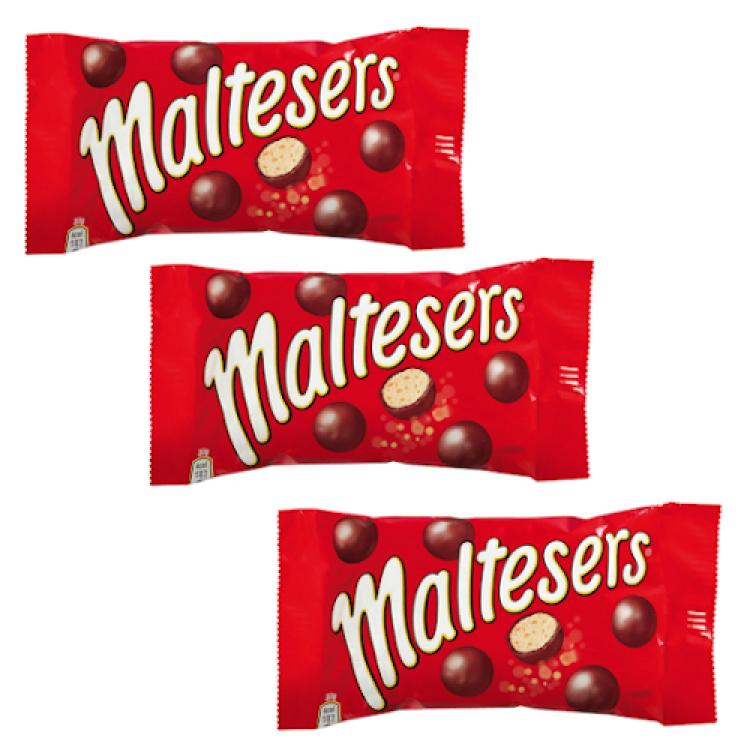 Maltesers (Single) 37g 3 For £1