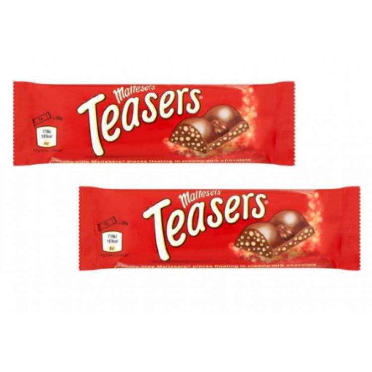 Maltesers Teaser Chocolate Bar 35g - 2 For £1