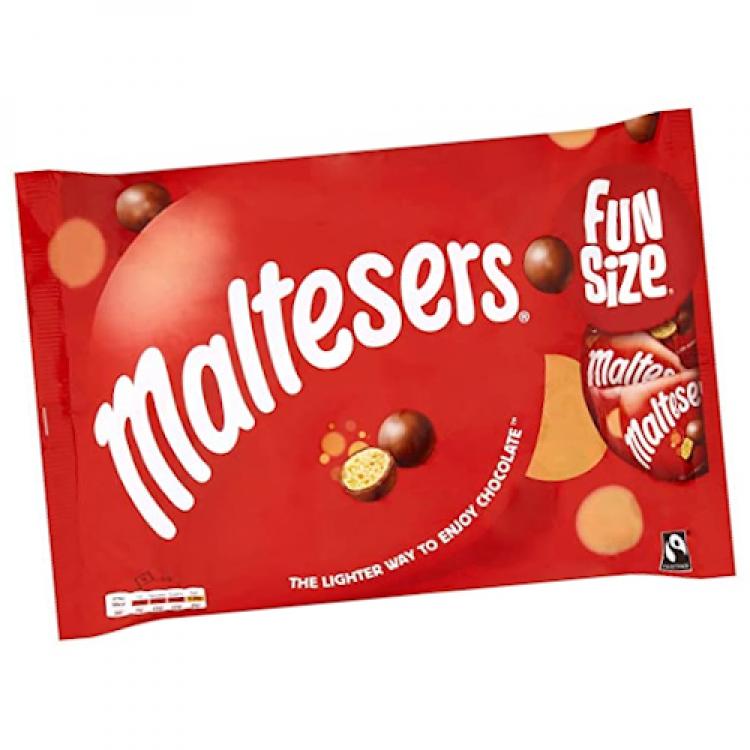 Maltesers Fun Size Chocolate Bags 10x19.5g