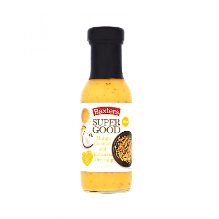 Baxters Super Good Mango Coconut & Kombucha Dressing 255g