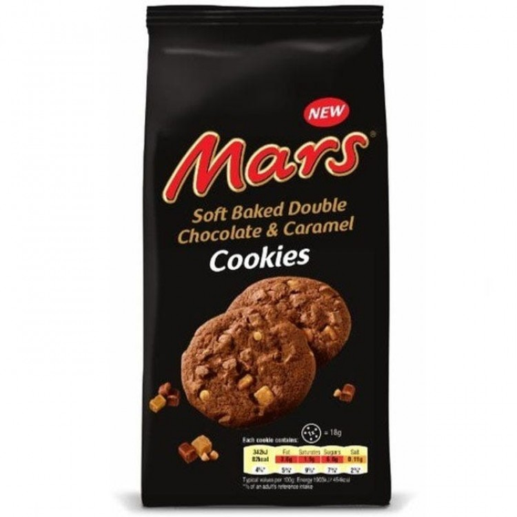 Mars Soft Bake Cookies 162g