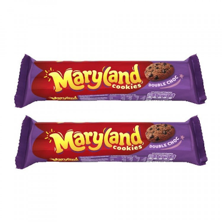 Maryland Cookies Double Choc 230g - 2 For £1