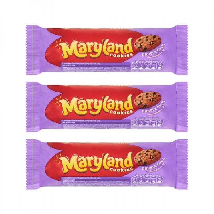 Maryland Double Choc Cookies 136g - 3 For £1
