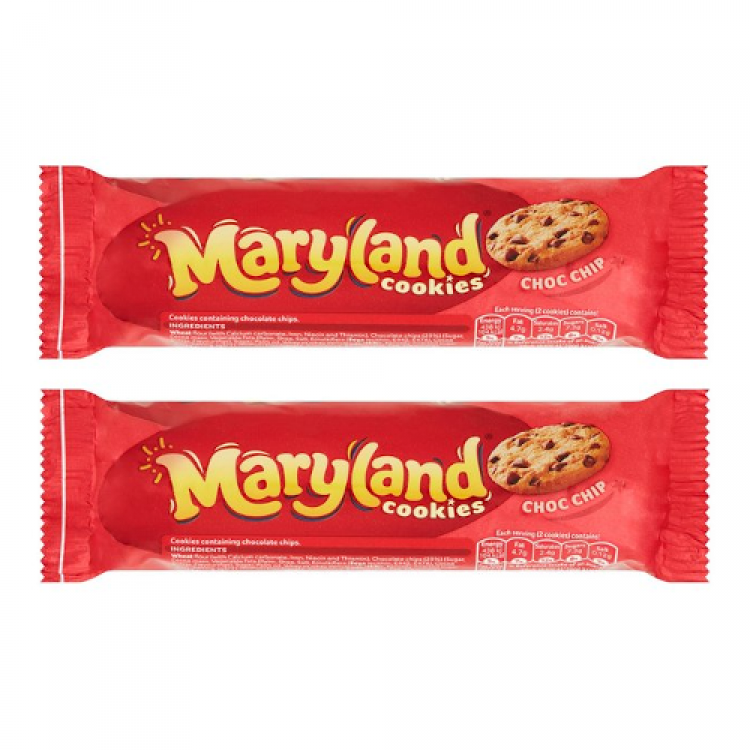 Maryland Chocolate Chip & Hazelnut Cookies 136g - 2 For £1