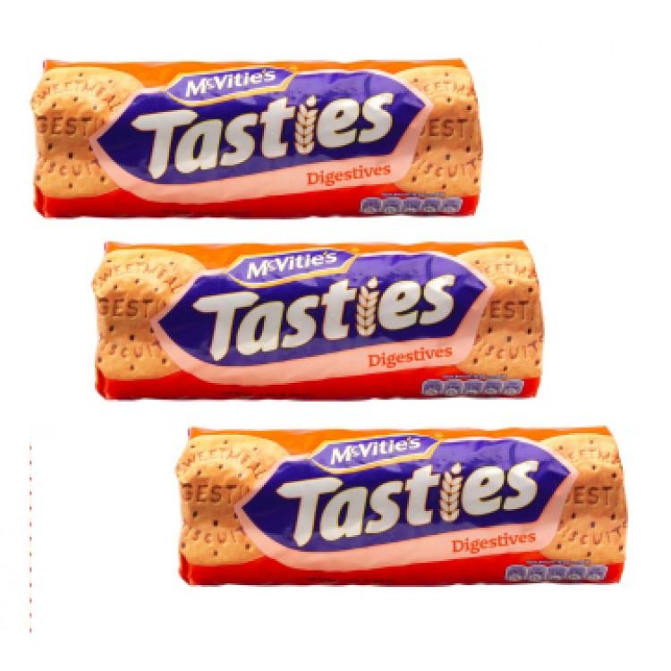 Mc Vities Tasties Digestives - 3 For £1