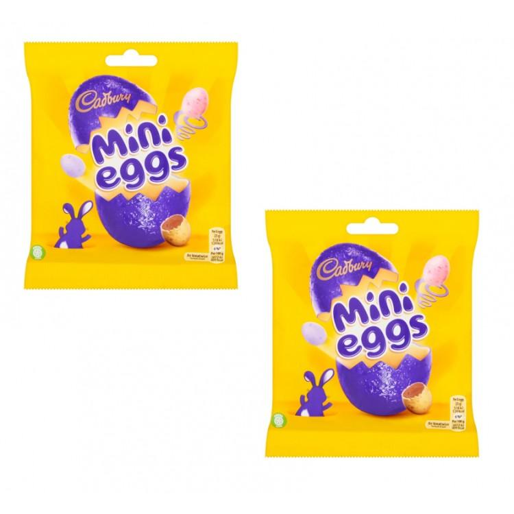 Mini Eggs 80g Bags - 2 For £1