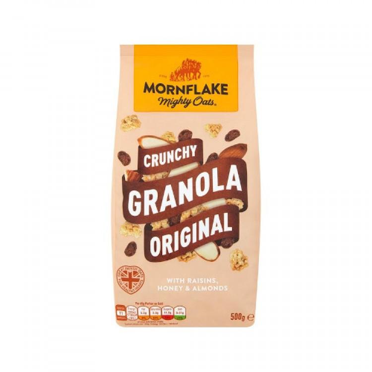 Mornflake Crunghy Granola Original Raisin Honey & Almonds 500g