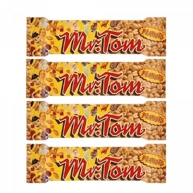 Mr Tom Peanut Bar (single) 40g 4 For £1