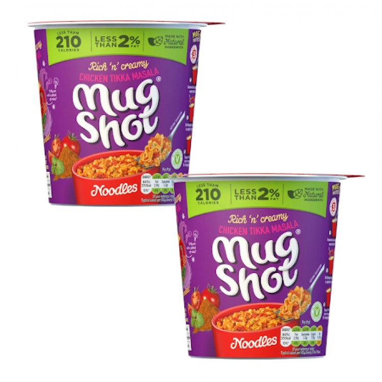 Mug Shots Chicken Tikka Masala Pots - 2 For £1