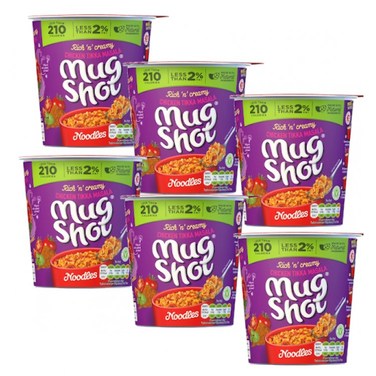 Mug Shots Chicken Tikka Masala Pots 6 x 56g - CASE PRICE