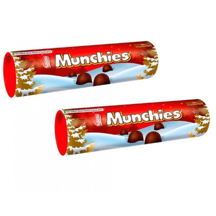 Nestle Munchies Chocolate 100g Tube - 2 For £1.50