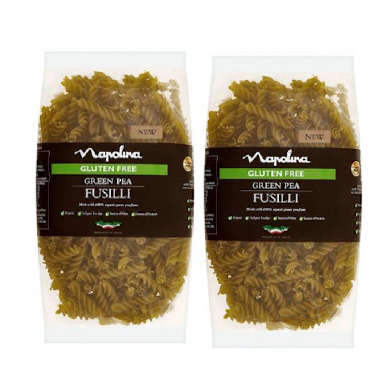 Napolina Green Pea Fusilli 500g - 2 For £1