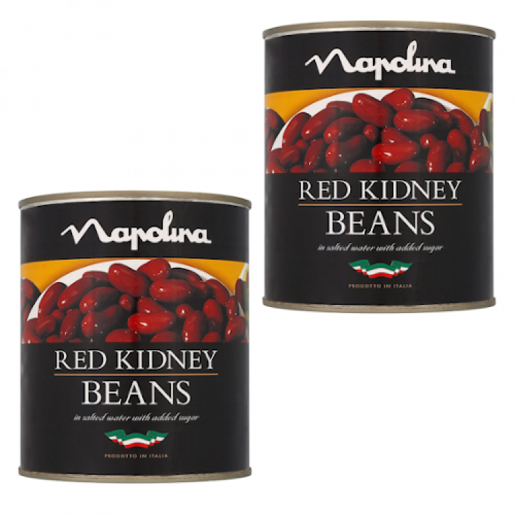 Napolina Red Kidney Beans 800g - 2 For £1