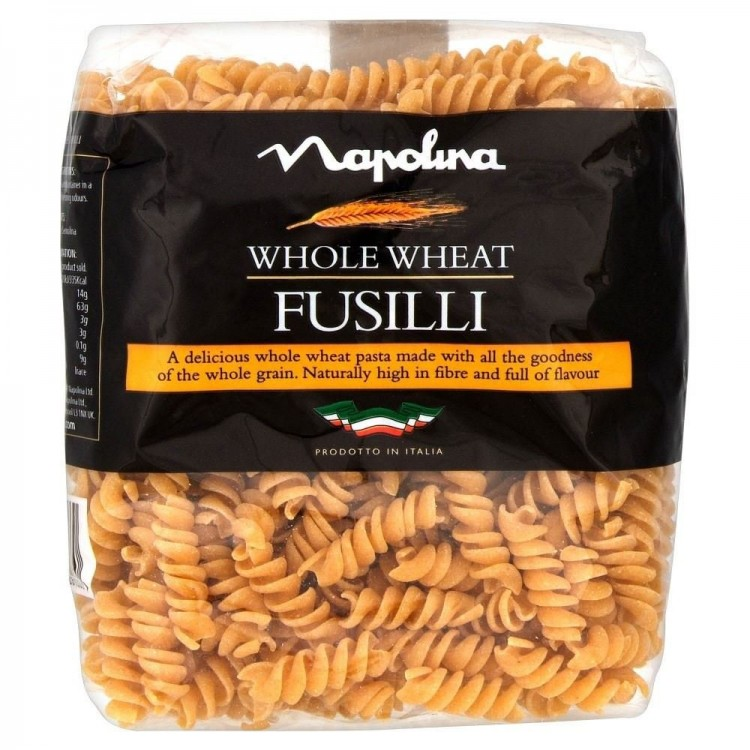 Napolina Whole Wheat Fusilli 500g