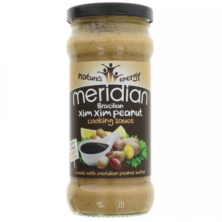 Natures Energy Meridian Brazilian Xim Xim Peanut Cooking Sauce 350g