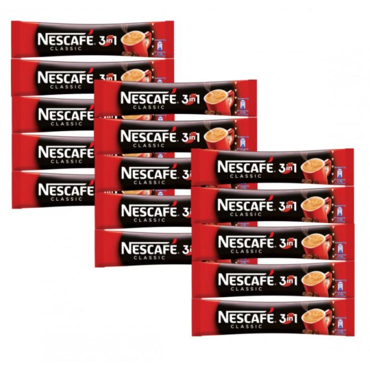Nescafe 3in1 Sachet 17g - 15 For £1