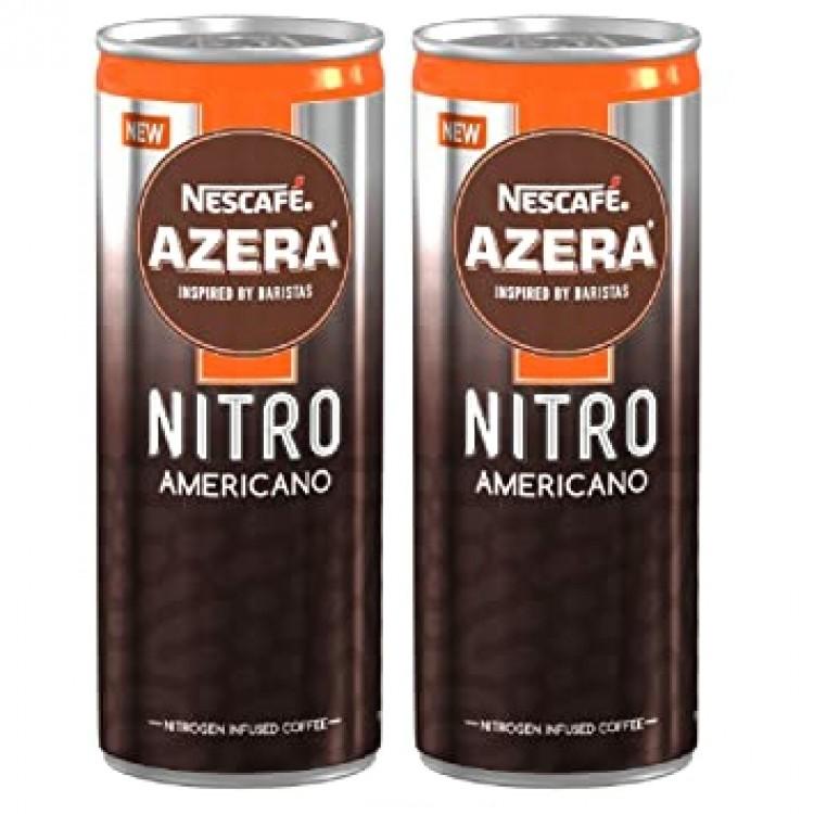 Nescafe Azera Nitro Americano 192ml 2 for £1