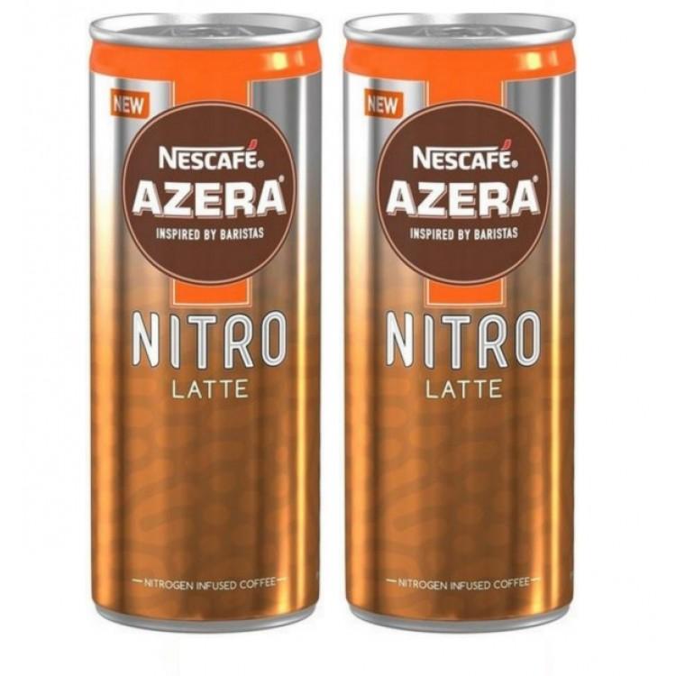 Nescafe Azera Nitro Latte 192ml Case of 12