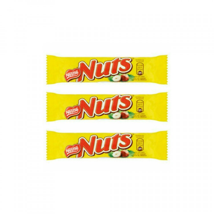 Nestle Nuts Bar 40g - 3 For £1