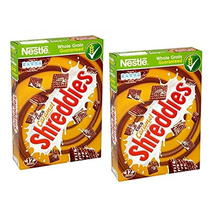 Nestle Caramel Shreddies  460g - 2 For £1