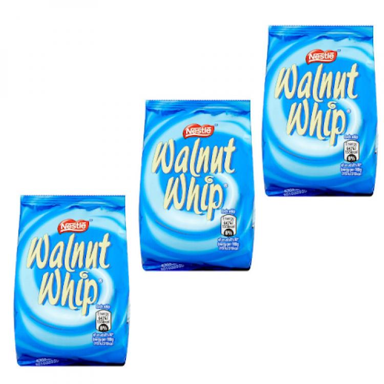 Nestle Walnut Whip 30g - 3 For £1