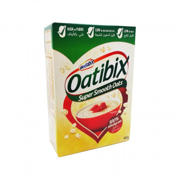 Weetabix Oatbix Super Smooth Oats 450g