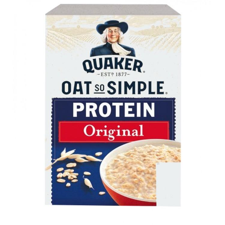 Quaker Protein Porridge 8 sachets 302g