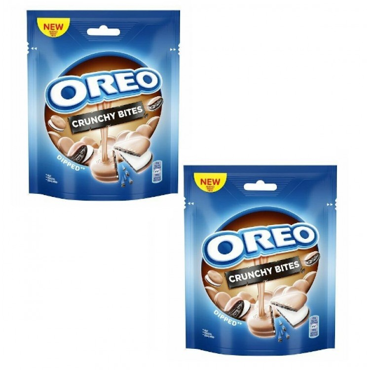 Oreo Crunchy Bites Dipped Biscuits 110g - 2 For £1.50