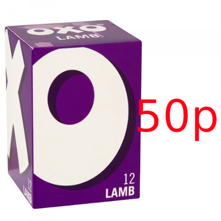Oxo Cube Lamb (12) 71g