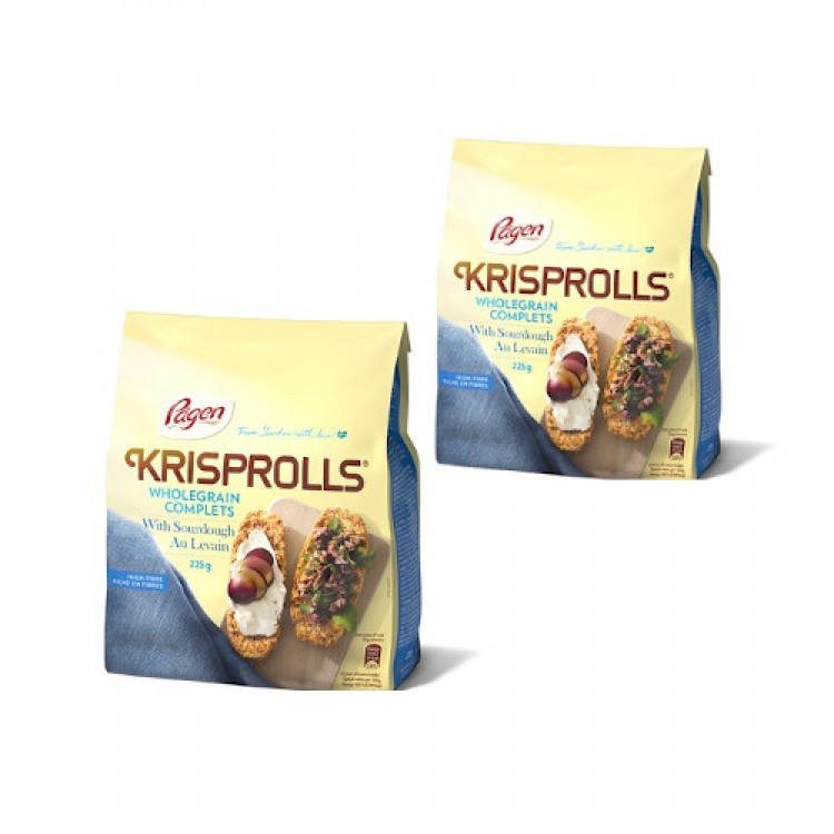Pagen Krisprolls Wholegrain 225g - 2 For £1