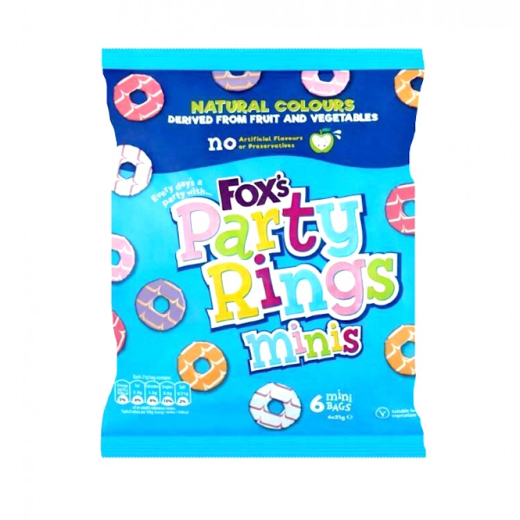 Foxs Party Ring Minis 6 x 21g