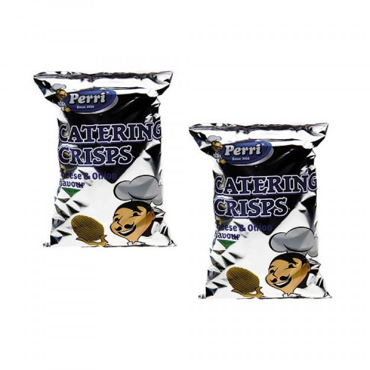 Perri Cheese & Onion Flavour Crisps 200g Bag - 2 For £1